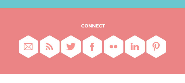 Social Buttons in Fudge - WordPress Event Theme
