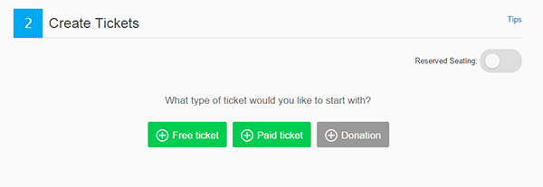 Eventbrite Create Tickets