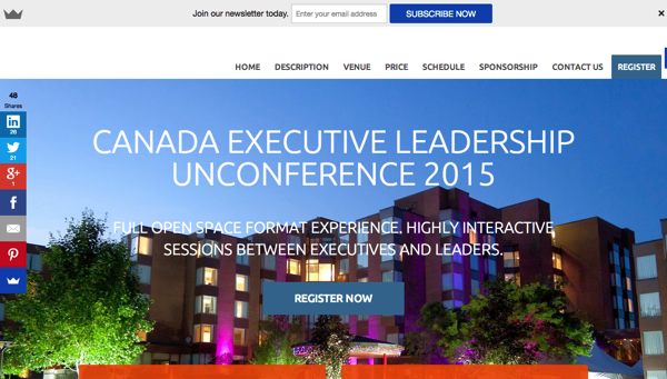 Canada Executives Leadership Unconferece