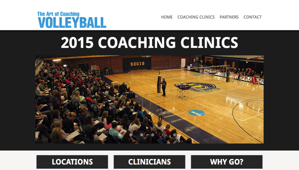 The Art of Coaching Volleyball Clinics