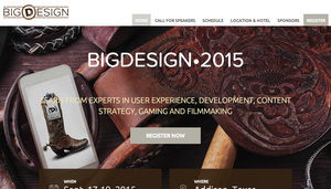 Big Design Events