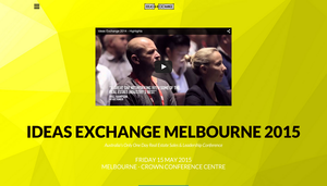 Ideas Exchange Melbourne 2015