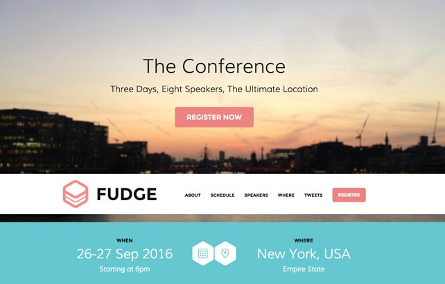 WordPress Conference And Event Themes Shop