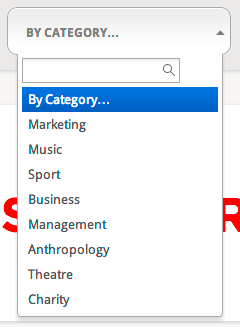 category - quick search