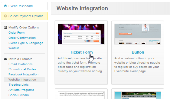Creating Ticket Form